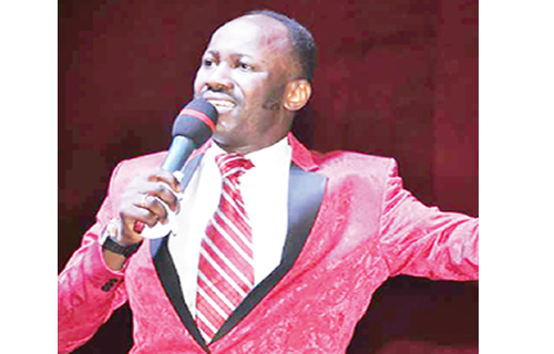 Apostle Suleman replies dad; stop the killings and I will keep quiet