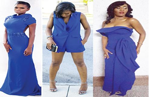 Beautifully bold in bespoke blue