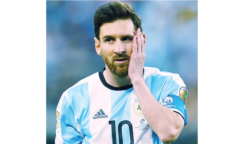 Again, Messi in the eye of the storm