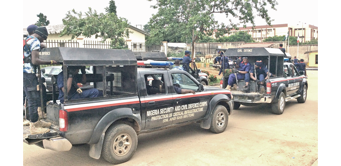 Police arrest NSCDC official for killing passenge