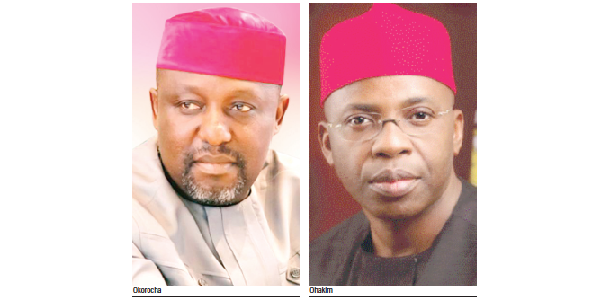 Ohakim lauds Okorocha for paying judges' six months' salary arrears