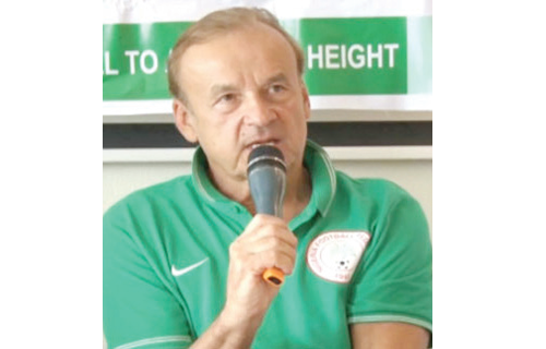 Rohr promises to win 2019 AFCON for Nigeria