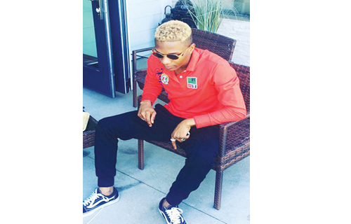 Starboy boss, Wizkid, joins blonde gang