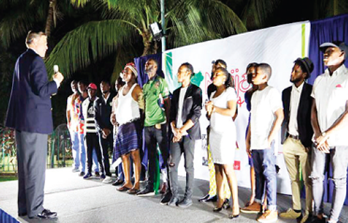 Night with performance poets in Abuja