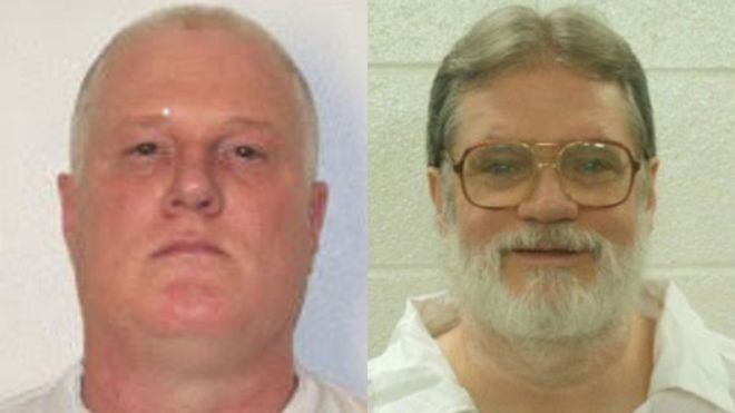 US court halts two executions