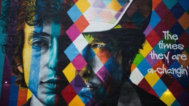 Bob Dylan finally accepts Nobel Prize