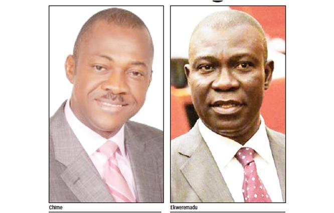 Ekweremadu, Chime renew battle for Enugu West