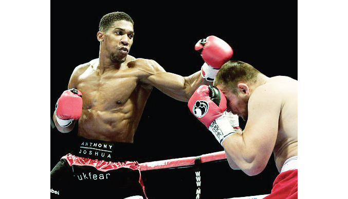Heavyweight boxing: Tyson, Lewis declare Joshua as best