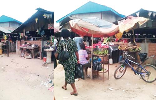 Market built on cemetery where strange things happen