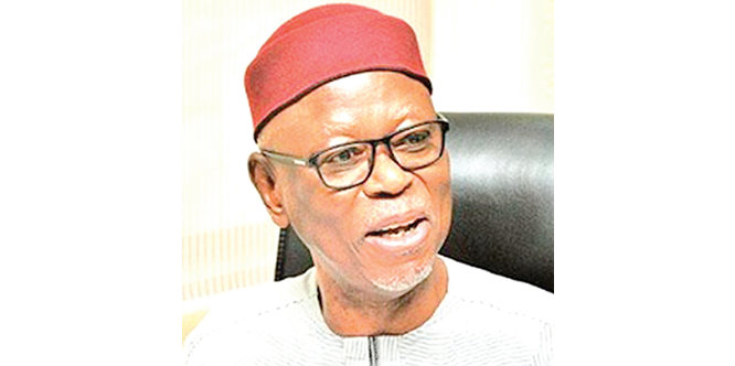 Oyegun, chieftains, govs, legislators shun APC rally in Niger