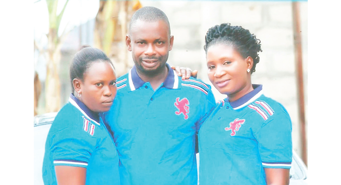 I go four rounds every night –man who married two wives same day