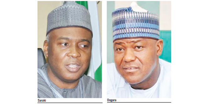 Saraki, Dogara: We're not desperate for power