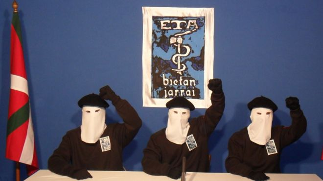 Letter reveals militant group, Eta, poised to disarm