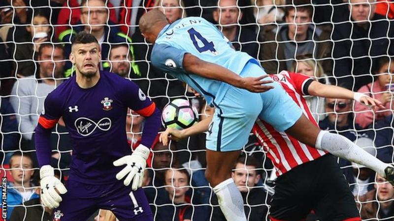 EPL: Iheanacho makes cameo appearance as City sink Saints