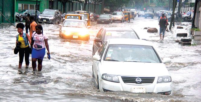 Averting impending flood disaster