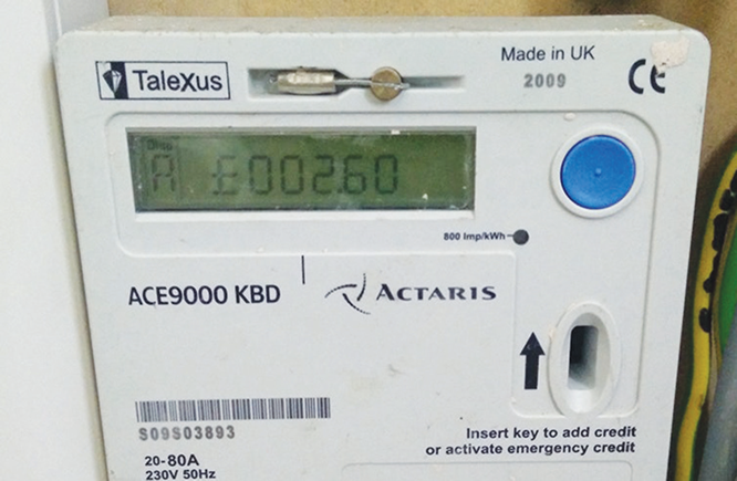 Countdown to high electricity tariff