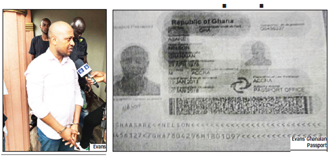 Image result for evans kidnapper had a ghanaian passport