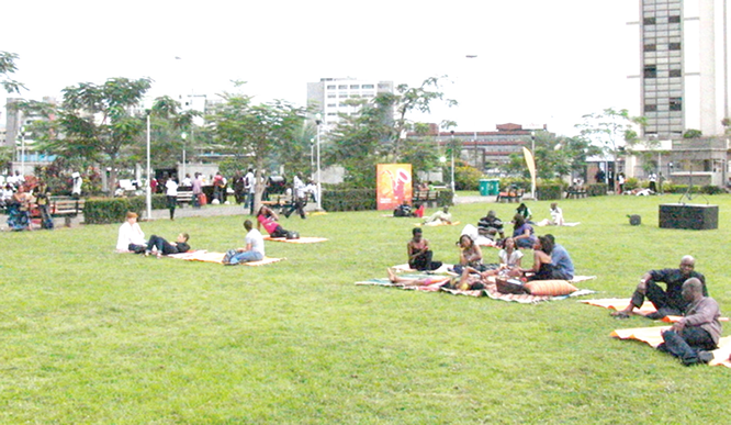 Decorating Lagos parks, gardens with free WIFI