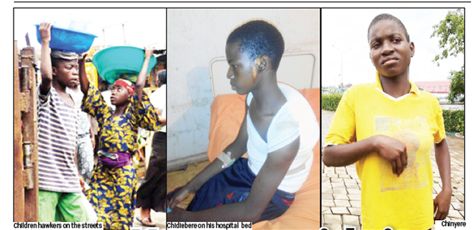 Housemaids in  the hands of brutal mistresses