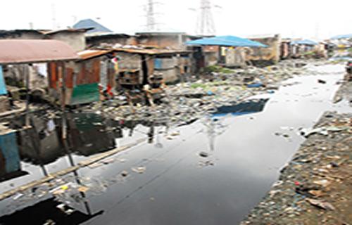 RESIDENTS FLEE, CHOLERA BREAKS LOOSE AS FOUL ODOUR FILLS LAGOS NEIGHBOURHOOD