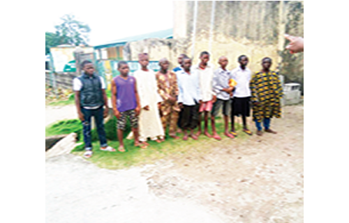 Lagos treats, unites teenage prison inmates with families
