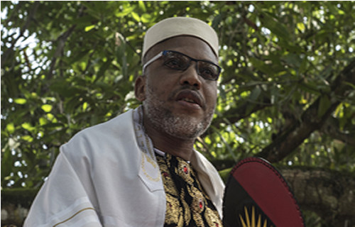 VIDEO: Army jet allegedly hovers over IPOB leader Nnamdi Kanu's house