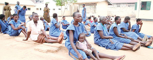 Plight of pregnant female awaiting trials