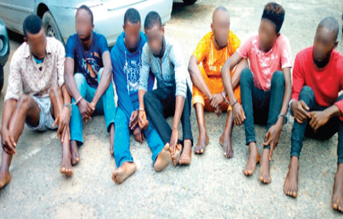 10 men docked for allegedly belonging to a secret cult in Ogun