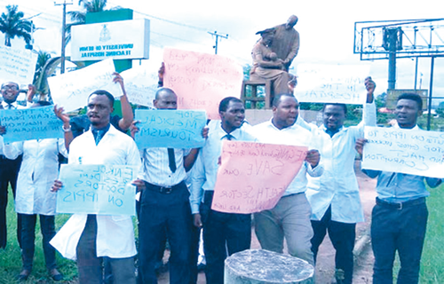Mixed feelings greet resident doctors' strike