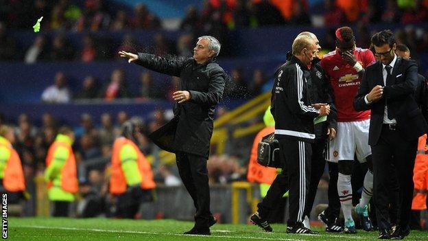 UEFA League:  United's 'Playstation football' angers Mourinho