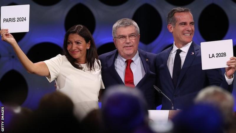 Paris, LA to host 2024 & 2028 Olympics