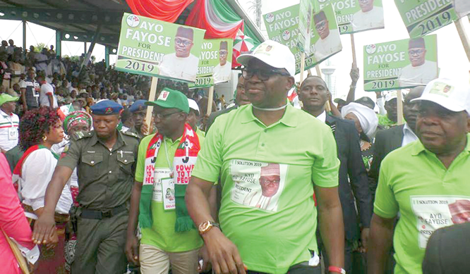 Fayose: Roadblock to presidency