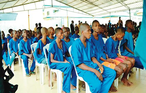 Nigerian prison where children die like flies