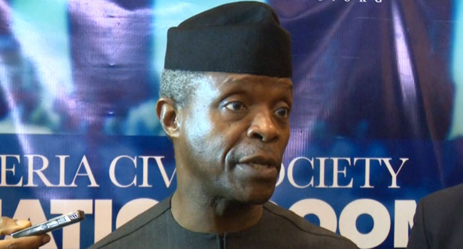 BREAKING: Osinbajo admits approving oil contracts for NNPC