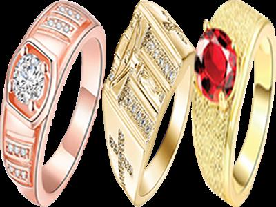 Fancy rings for men of luxury
