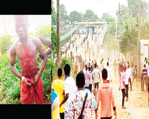 Clash: Four policemen injured, five students arrested