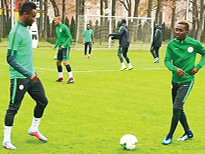 Eagles eye win over Messi-less Argentina