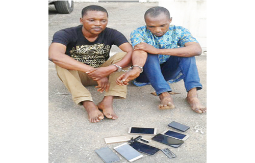 Weekends, days for stealing at clubs – Suspect