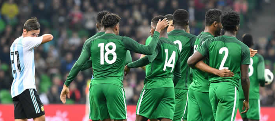 BREAKING: Nigeria beat Argentina 4-2 as Iwobi hits brace