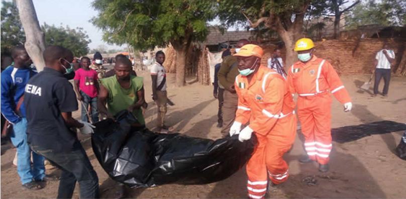 Suicide bomber kills 11 in Borno mosque attack