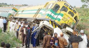 Two feared dead, many injured as train crushes commercial bus in Lagos