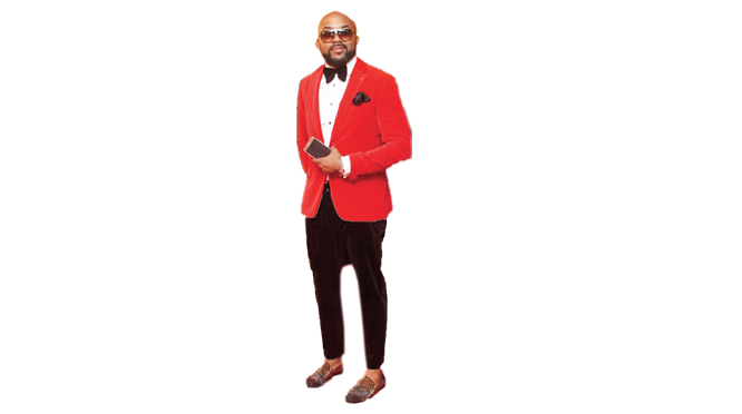 Banky W: Red carpet head turner