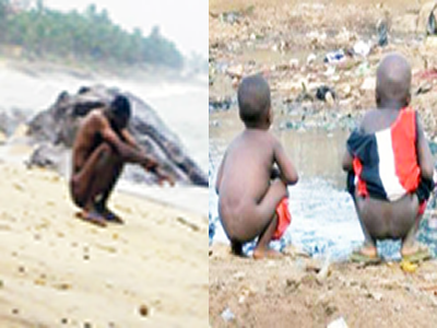 NIGERIA: ONE HUGE FIELD WHERE PEOPLE DEFECATE WITHOUT SHAME