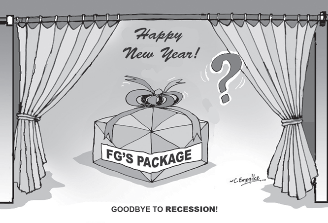 FG's pathetic Christmas, New Year gift