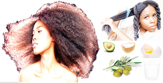 Caring for natural hair, naturally