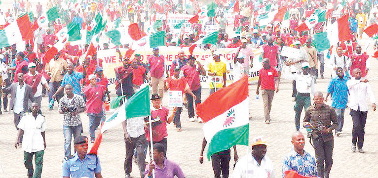 BREAKING: New Minimum Wage: NLC commence nationwide strike midnight