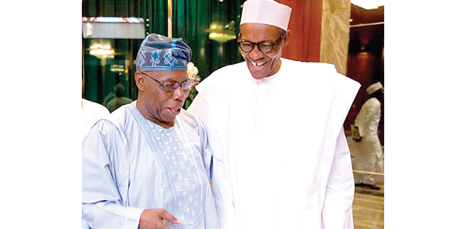 BREAKING: Jonathan, IBB absent as Buhari meets Obasanjo, others in Aso Rock