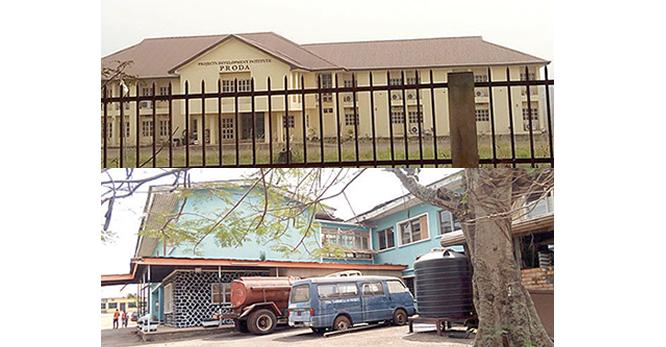 PRODA: Giant research institute lies desolate
