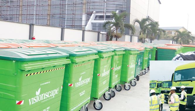 Comprehensive waste mgt berths in Lagos
