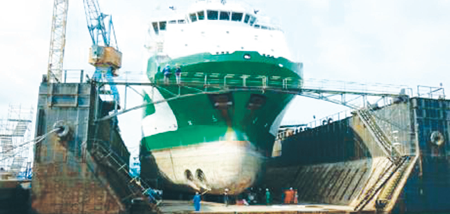 Budget cut threatens FG's floating dock delivery